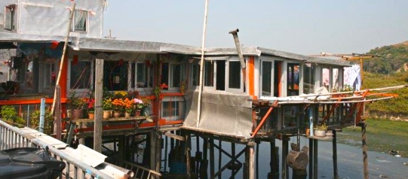 Stilt house in Tai O