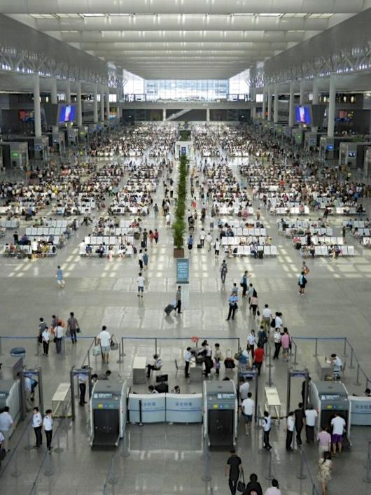 High Speed Rail Terminal, Shanghai