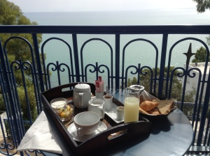 Breakfast in Sidi Bou Said