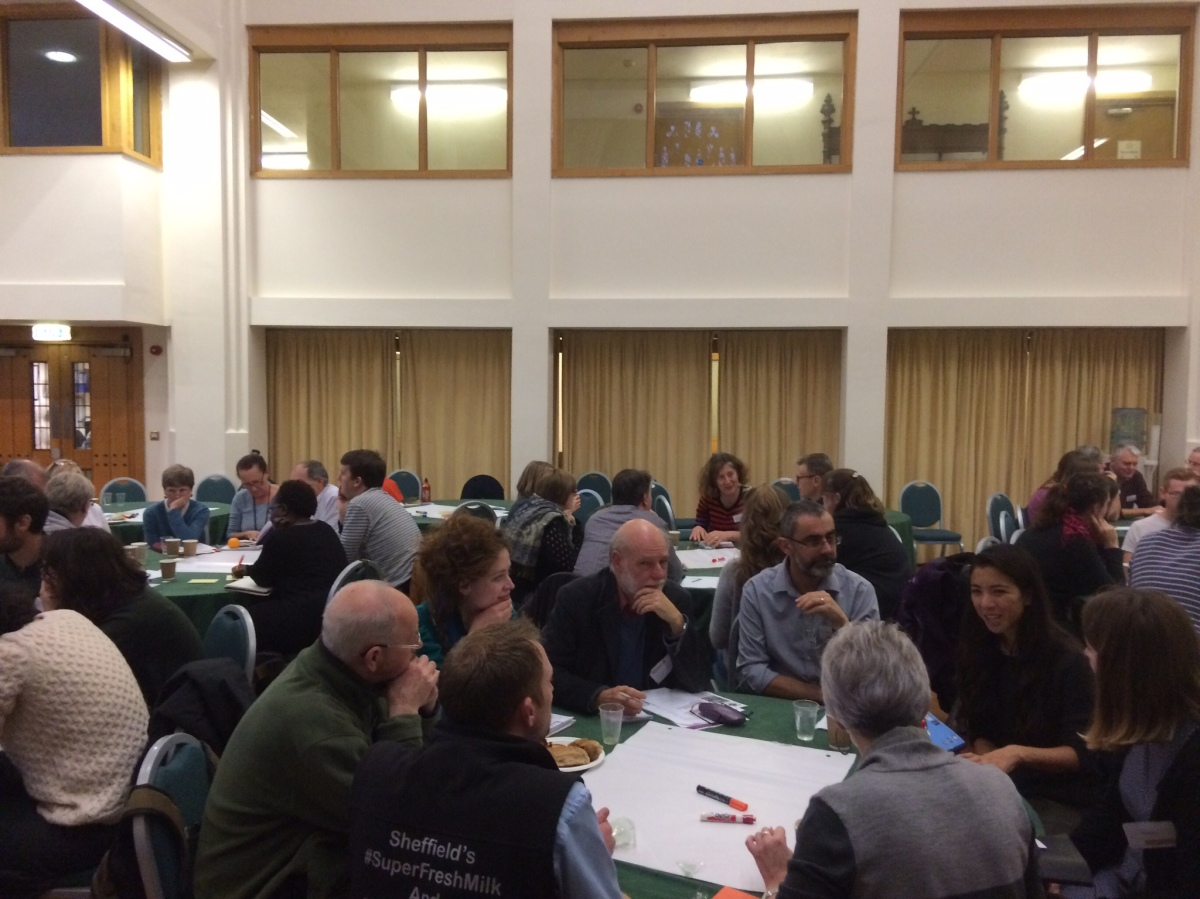 Decent Helpings:  Setting a local and regional agenda for food justice