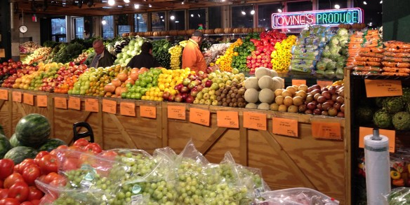 Fresh food market in the US