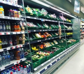Local supermarket serving a low income area in the north of England